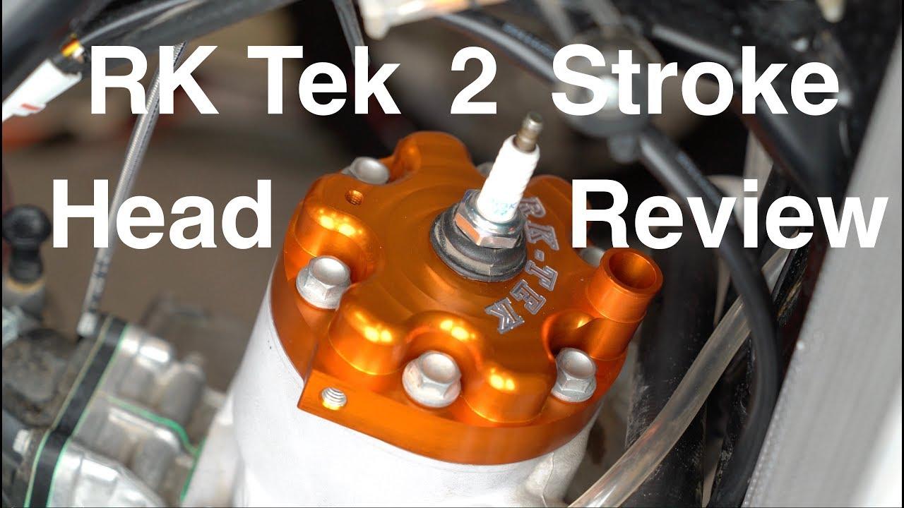 RK Tek Performance Dirt Bike Head Review KTM 250 and 300 and Yamaha YZ250X