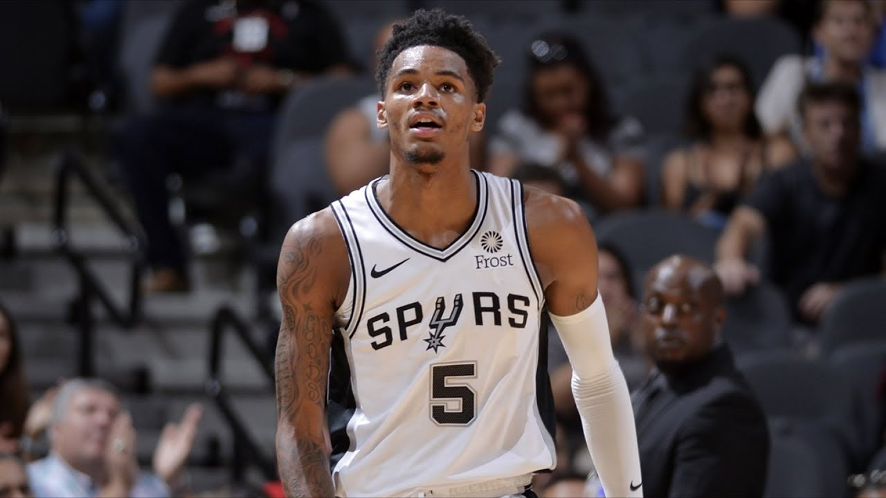 Dejounte Murray Torn ACL, Spurs Playoff Streak in Danger 2018-19 NBA