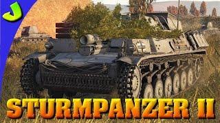 War Thunder- Sturmpanzer II Realistic Gameplay ( Troll Cannon Extraordinaire )
