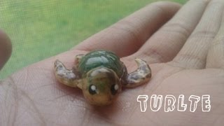 ♥Polymer Clay Sea Turtle Tutorial♥
