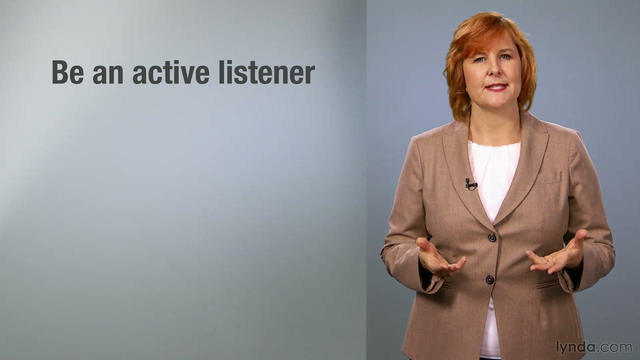 business skills tutorial effective communication lynda com