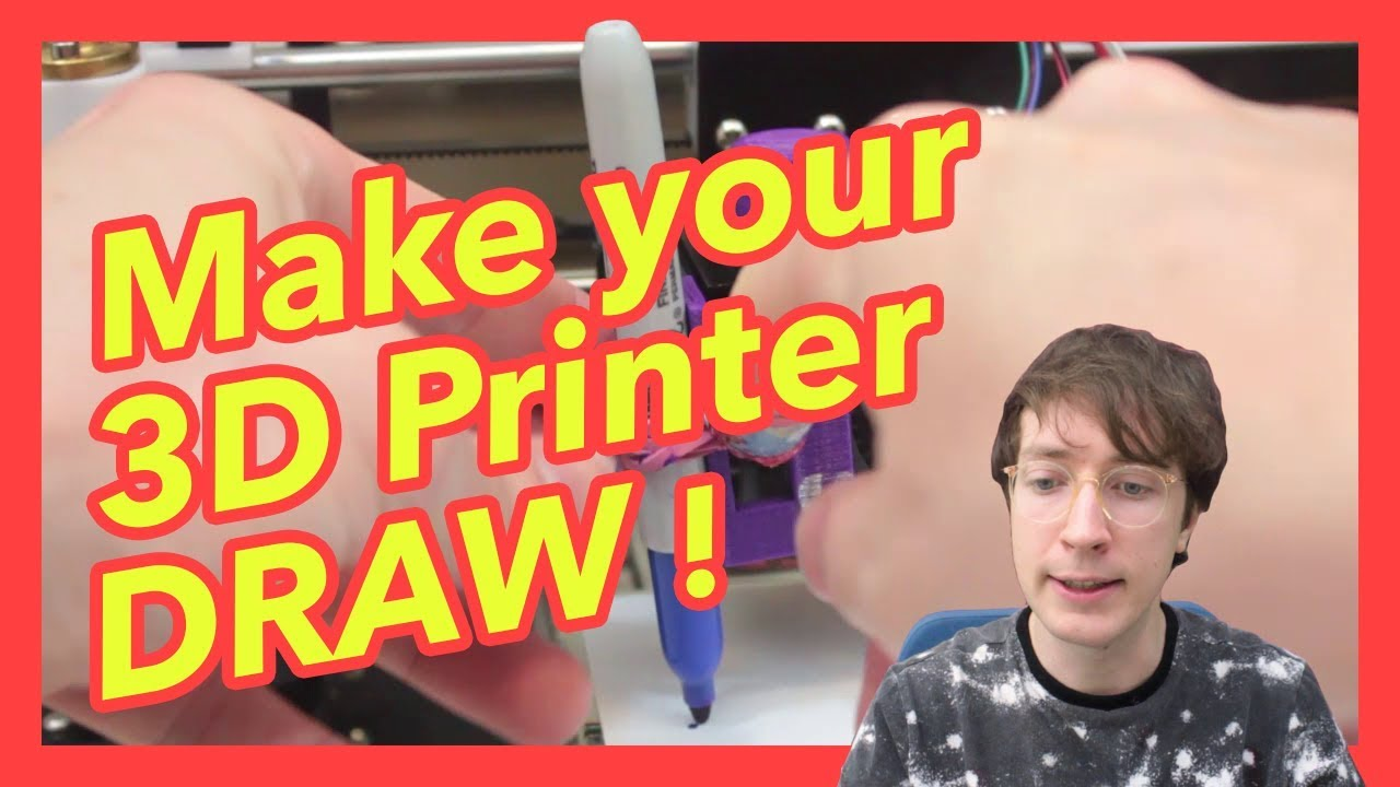 How to Use a 3D Printer as a Pen Plotter