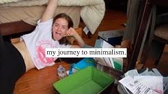 JOURNEY TO MINIMALISM [episode 1] + throwing everything away