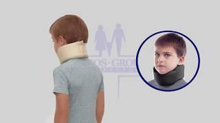 Бандаж для шейных позвонков (Шина Шанца) для детей тип 710 Торос Груп