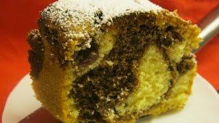 [recipe] Super Fluffy Marble Cake