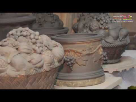 italienische terracotta toepfe youtube. Black Bedroom Furniture Sets. Home Design Ideas