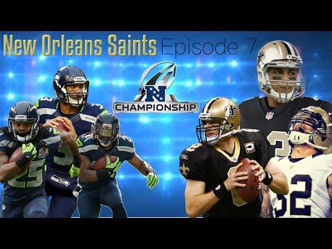 Must Watch! Revenge?! NFC Championship! Ultimate New Orleans Saints Connected Franchise