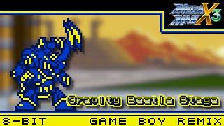 [8-Bit;Game Boy]Gravity Beetle - Mega Man X3【MMXtreme Style】