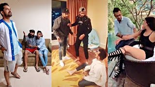 Yuzvendra Chahal's Extremly FUNNY Tik Tok Videos😂😂😂 With Rohit Sharma And Mohammed Shami