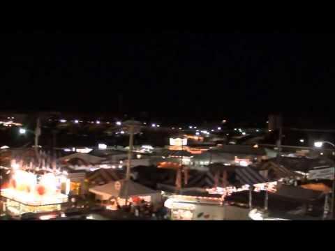 2012 Bloomsburg Fair   Sky Ride At Night