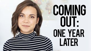 coming out one year later ingrid nilsen