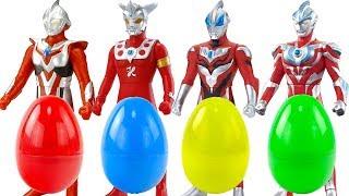 奧特曼發光扭蛋迷你怪獸奇趣蛋 ultraman surprise eggs Cashapon超人力霸王扭蛋