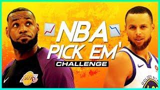 NBA IS BACK! Pick