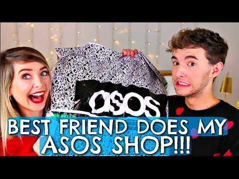 BEST FRIEND DOES MY ASOS SHOP