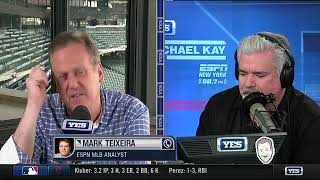 Mark Teixeira on the Yankees magical run in 2017