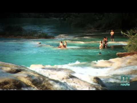 Cascadas de Agua Azul, Chiapas, The Mayan Route