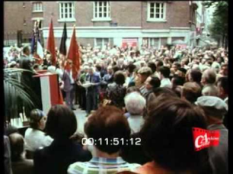 Commémoration de l'Appel du 10 juillet 1940 de Duclos et Thorez