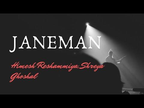 Janeman (Radio) Ek naam tumhara lekar (Edited) Version