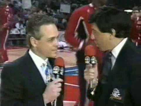 NBA on NBC - 1991 ECF, Chicago Bulls @ Detroit Pistons - Intro - YouTube