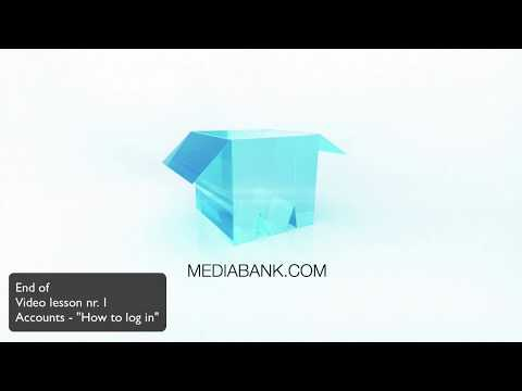 1. Getting started/how to log into Mediabank