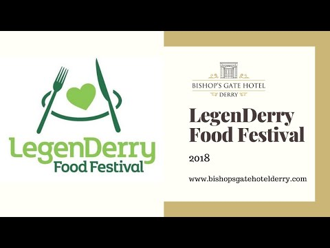 Our Head Chef Lee did the Hotel proud at the LegenDerry Food