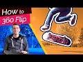How to 360 Flip (Tre Flip)! Shred School