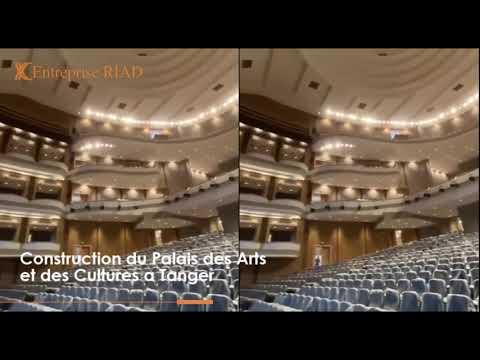 Projet de construction du palais des arts et des cultures de la grande ville de Tanger
