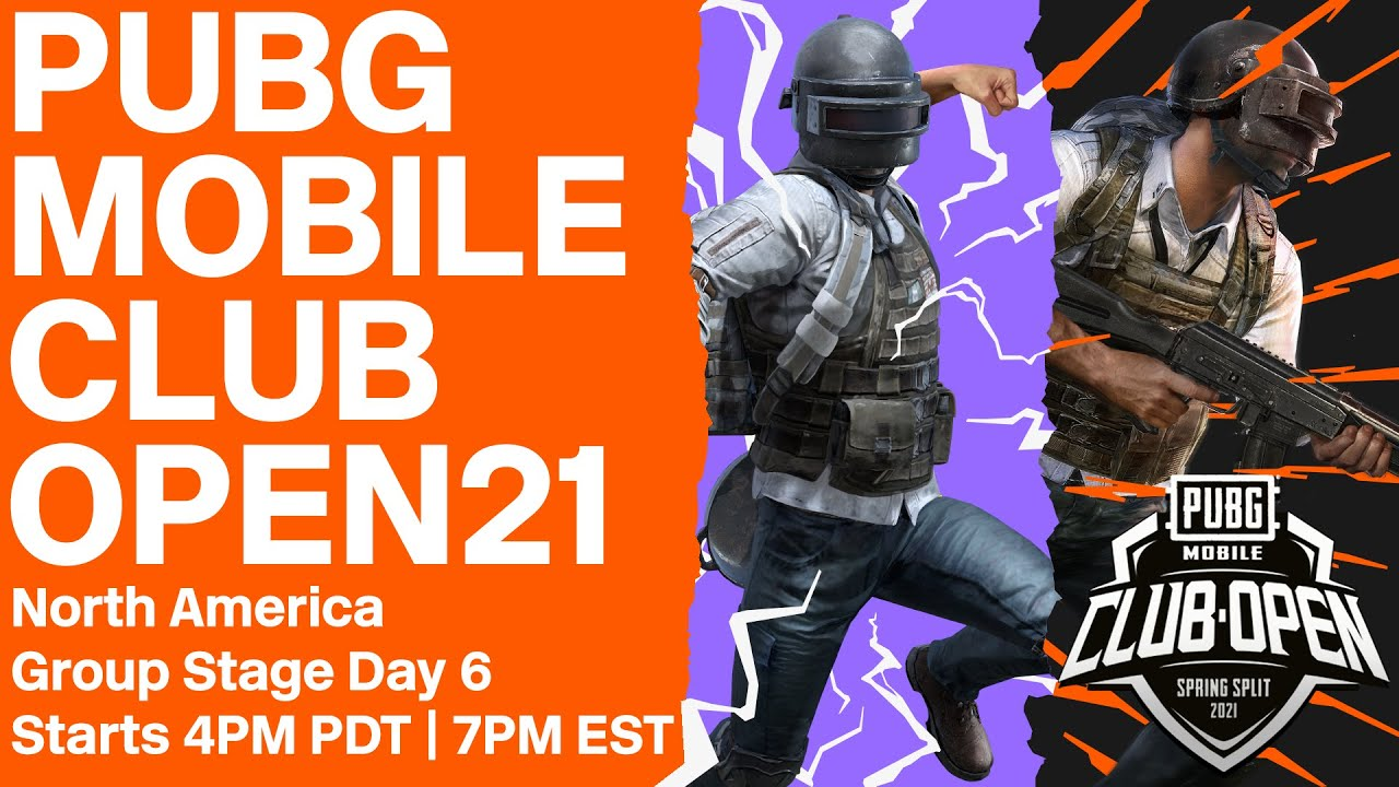 [EN] PMCO North America Group Stage Day 6 | Spring Split | PUBG MOBILE Club Open 2021