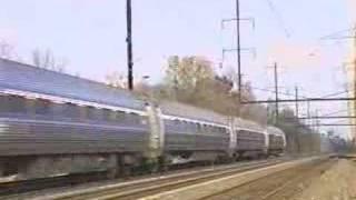 Amtrak Acela Express, Metroliner and Silver Star