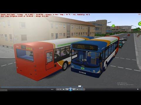 man single deck bus