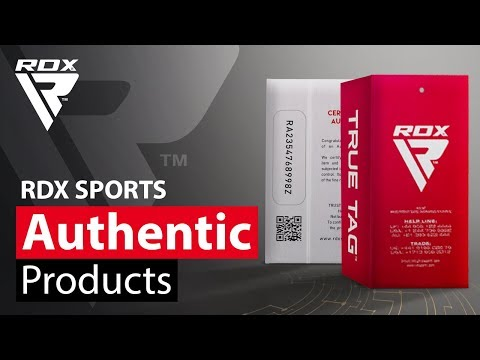 How to Spot Fake RDX Sports Gear - Authenticity Certificate Card