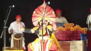 Uday Kadabala as Keechaka.. Raghu Achar
