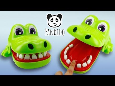 ⭕-kroko-doc-dentist-hasbro-toy-deutsch-unboxing---ausgepackt-und-angespielt
