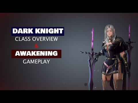 Dark Knight Class Overview and Awakening Gameplay in Black Desert Mobile