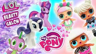 LOL Surprise Dolls Compete to Work at Rarity