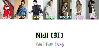 AAA - Niji (虹) [Color Coded Lyrics/Kan/Rom/Eng]