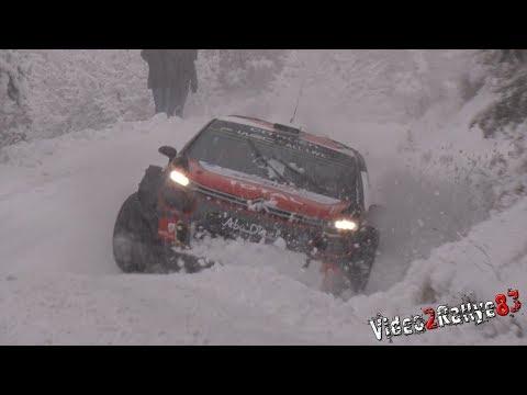 Test Monte Carlo 2018 - Kris Meeke & Craig Breen - C3 WRC - Tarmac and Snow