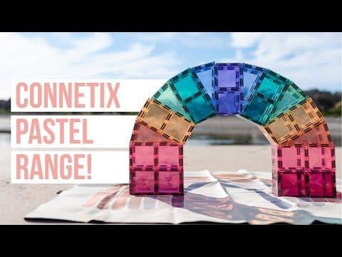 Introducing Connetix Tiles Pastel Range