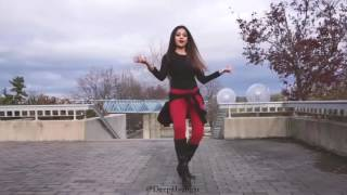 "pooja dance with me "" Cheez Badi Video Song   Dance video Neha Toshniwal"