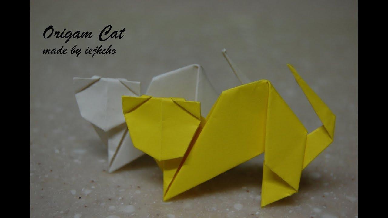 Origami Cat Box