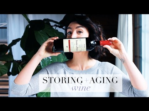 wine article How to Store  Age Wine