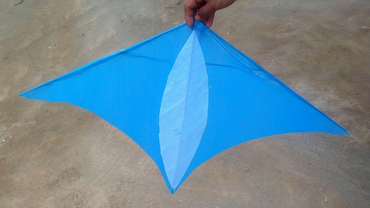 How to Make ZENITH DELTA Kite With Plastic Bag || Flying Result 100% || Super Kite Making || Patang