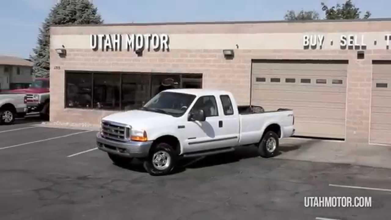 2000 Ford F 250 Super Duty Lariat 73l Diesel Engine Utah Motor F250 Companyllc 801722 5482