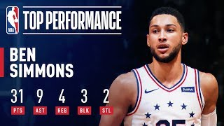 Ben Simmons DOES IT ALL in Brooklyn!  | April 18, 2019