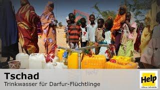 Tschad: Trinkwasser für Flüchtlinge
