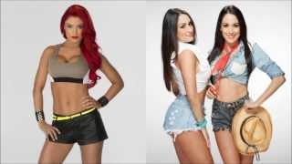 "WWE: Total Divas official 3rd theme: ""La La La (Hot Girls)"" [by Da"