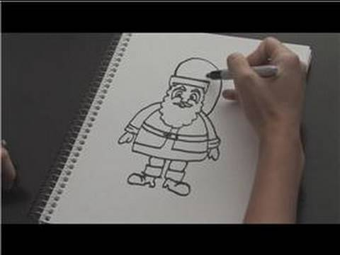 How To Draw How To Draw Santa Claus Youtube
