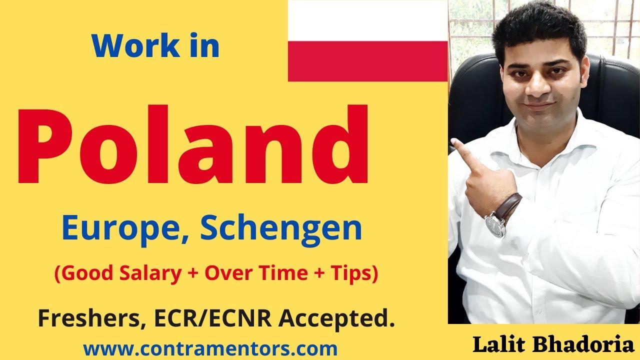 Download Poland work visa 2021, Opportunity to work in Poland Europe Scehngen Area.