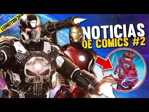IRON PUNISHER vs Iron Man! Muerte en la familia FLASH y MÁS!! Noticias de cómics #2