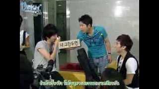 Video [Thaisub] 090726 Oppa Band Ep 06 - Sungmin & Heechul Full (1/4) download MP3, 3GP, MP4, WEBM, AVI, FLV April 2018